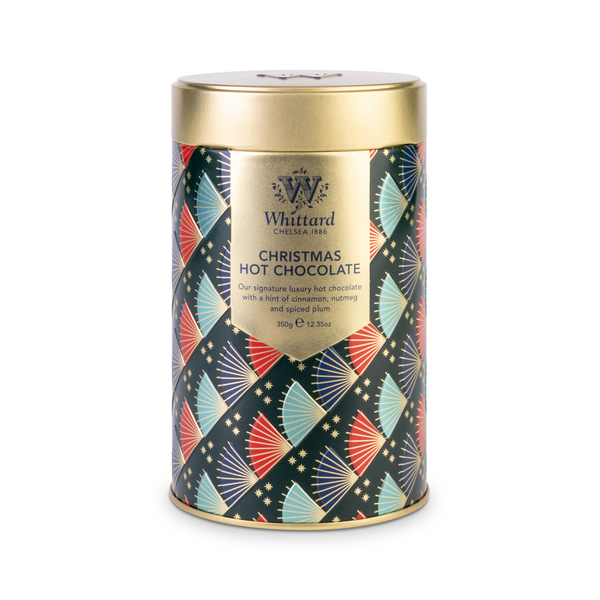 Whittard Christmas Hot Chocolate Tin 350g (6)