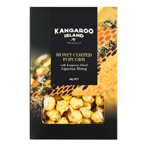 Kangaroo Island Honey Popcorn 80g