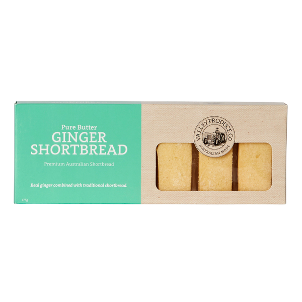 VPC Shortbread Ginger 175g