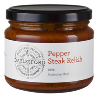 Daylesford Condiment Company Pepper Steak Relish 330g