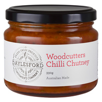 Daylesford Condiment Company Woodcutters Chilli Chutney 330g