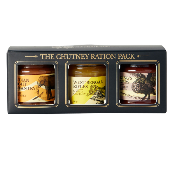 TRCC The Chutney Ration Pack 3 110g