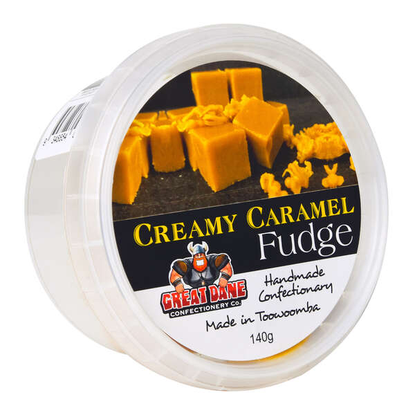 Great Dane Creamy Caramel Fudge 140g