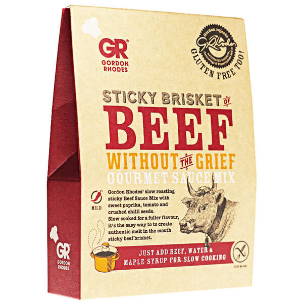 GR - Sticky Brisket of Beef Without The Grief Gourmet Sauce Mix