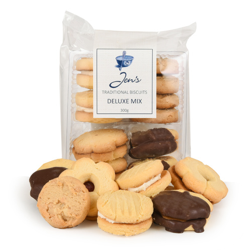 Jens Traditional Biscuits Delux Mix 300g