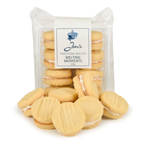 Jens Traditional Biscuits Melting Moments 300g