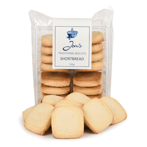 Jens Traditional Biscuits Shortbread 300g