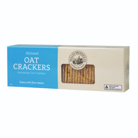 VPC Oat Crackers Almond 150g