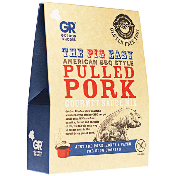 GR - The Pig Easy American BBQ Style Pulled Pork Gourmet Sauce Mix