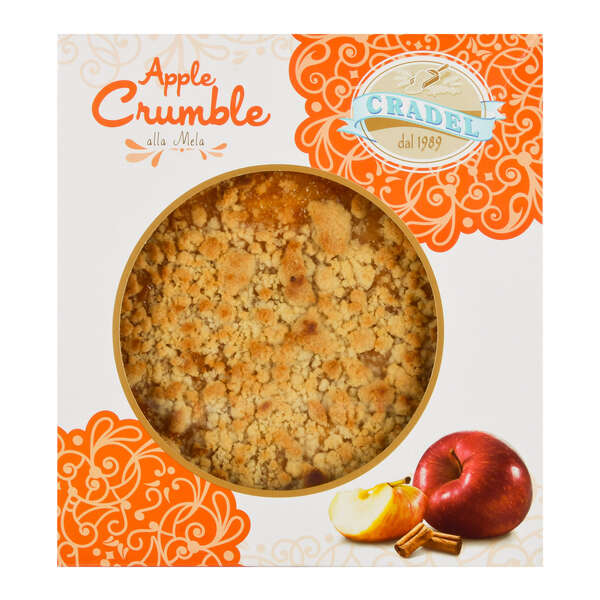 Cradel Boxed Apple Crumble 350g